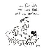 flat-white-short-black-two-spiders