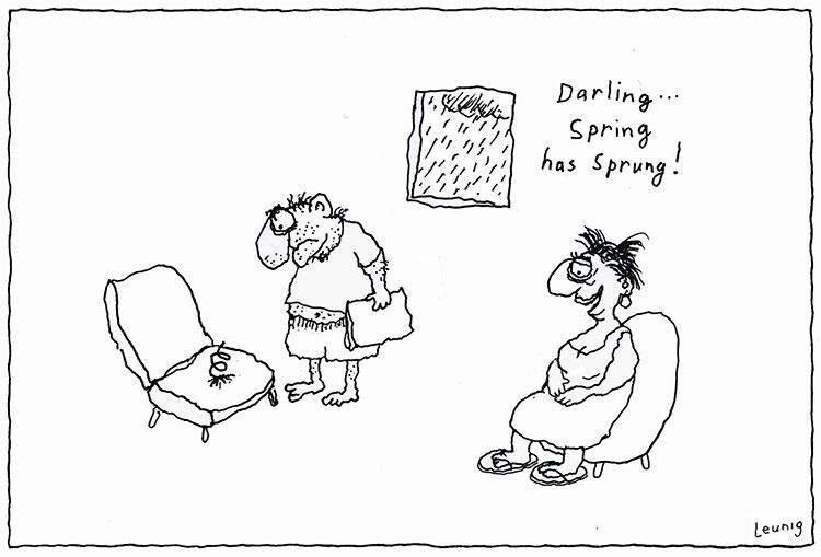 Spring Has Sprung Leunig